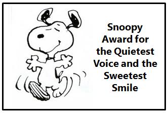 snoopy award