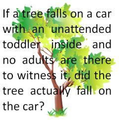unattended child
