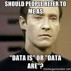 data datum statistics