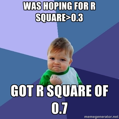 r square success kid meme