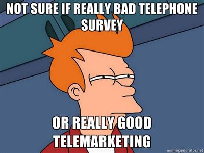 telemarketing futurama meme
