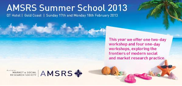 amsrs summer school