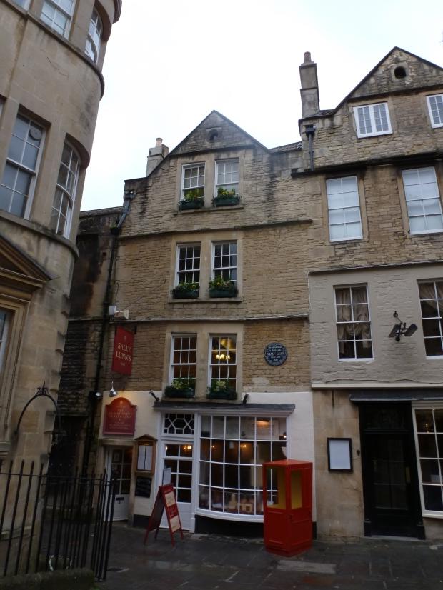 Sally Lunn's shop