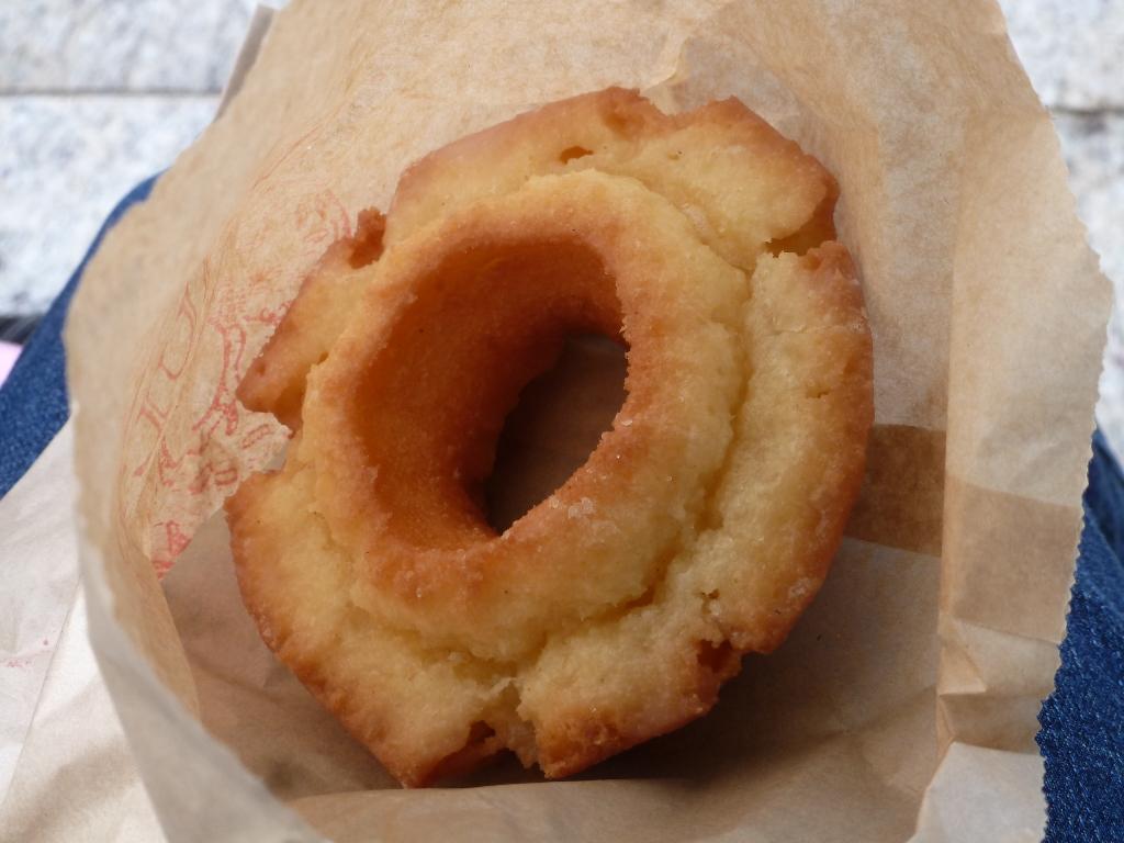Tim Hortons Sour Cream Plain Cake Donut