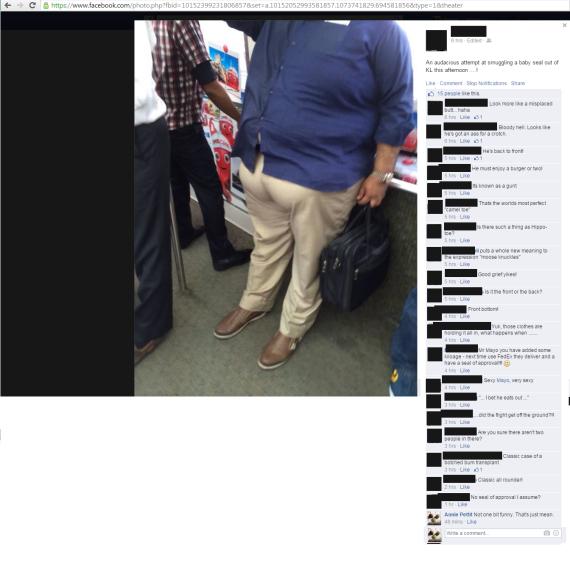 unacceptable social media behaviour