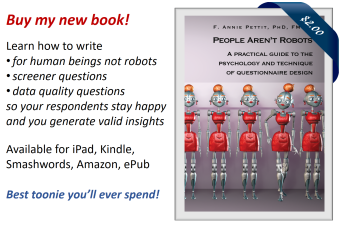 People Aren't Robots by Annie Pettit
