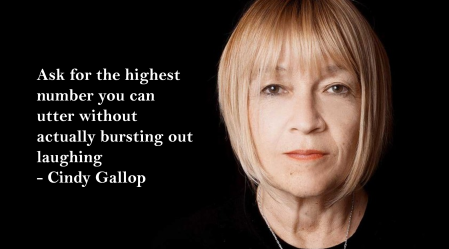 Cindy Gallop Highest Number Without Laughing Gender Diversity Salary Income