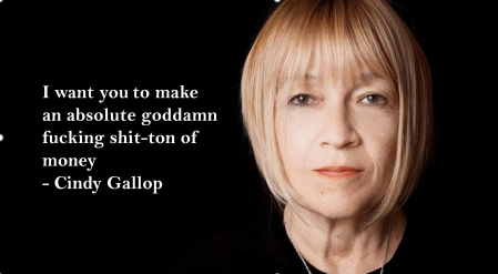 Cindy Gallop Shit Ton Money Gender Diversity Salary Income